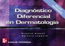 Descargar ebooks gratis italiano DIAGNOSTICO DIFERENCIAL EN DERMATOLOGIA 9788448151638