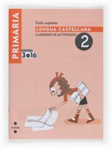 Permacultivo.es Lengua Castellana Cuaderno De Actividades 2 Projecte 3.16 5º Primaria Image