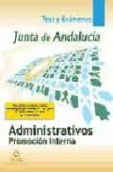 Permacultivo.es Administrativos De La Junta De Andalucia: Promocion Interna: Test Y Examenes Image