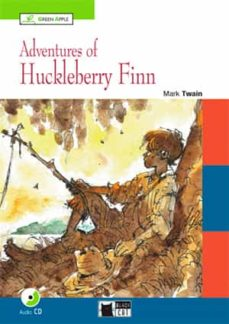 Biblioteca génesis ADVENTURES OF HUCKLEBERRY FINN WITH CD A2-B1 GREEN APPLE en español