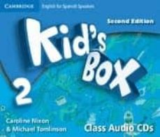 Inglés gratis descargar ebook pdf KIDS BOX 2 FOR SPANISH SPEAKERS CLASS AUDIO CDS 2ND EDITION 9788483238738
