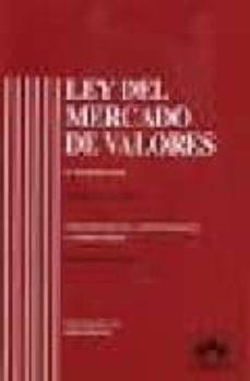 Descargar LEY DEL MERCADO DE VALORES: CONCORDANCIAS, JURISPRUDENCIA Y COMEN TARIOS gratis pdf - leer online