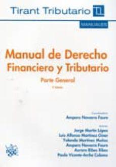 Permacultivo.es Manual De Derecho Financiero Y Tributario Parte General 2ª Ed. Image