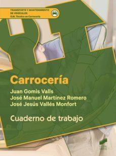 carrocería. cuaderno de trabajo (ebook)-9788491716938