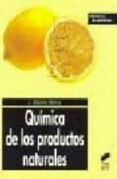 quimica de los productos naturales-j. alberto marco-9788497564038