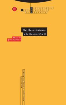 del renacimiento a la ilustración ii (ebook)-javier echeverria-9788498794038