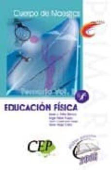 Carreracentenariometro.es Oposiciones Cuerpo De Maestros. Educacion Fisica. Temario (Vol. I ) Image
