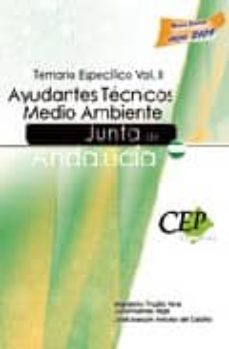 Geekmag.es Ayudantes Tecnicos Medio Ambiente Junta De Andalucia. Temario Esp Ecifico Vol. Ii Image