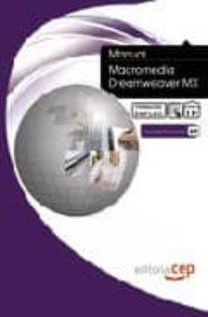 Lofficielhommes.es Manual Macromedia Dreamweaver Mx. Formacion Para El Empleo Image