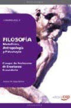 Permacultivo.es Cuerpo De Profesores De Enseñanza Secundaria. Filosofia. Temario Vol. Ii. Image