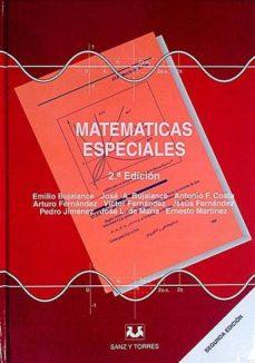 MATEMÁTICAS ESPECIALES - VVAA | Adahalicante.org