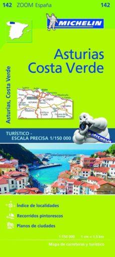 mapa zoom esp. asturias, costa verde 2017-9782067218048