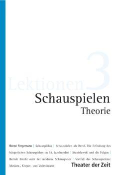schauspielen - theorie (ebook)-9783957491848