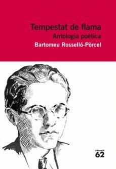 Lofficielhommes.es Tempestat De Flama: Antologia Poética Image