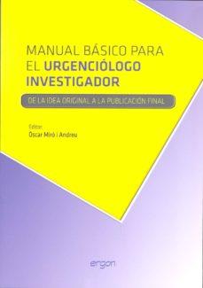 manual basico para el urgenciologo investigador-oscar miro i andreu-9788415351948