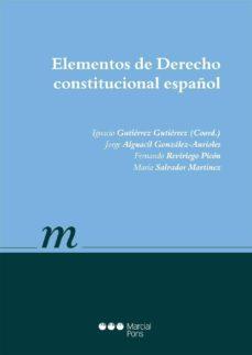 Inmaswan.es Elementos De Derecho Constitucional Español Image