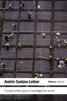 fundamentos para la investigacion social-andres santana leitner-9788420675848
