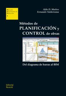 Enlace de descarga de libros gratis METODOS DE PLANIFICACION Y CONTROL DE OBRAS. de ALDO MATTOS, FERNANDO VALDERRAMA (Spanish Edition) 9788429131048 ePub RTF