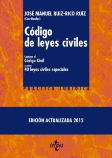 Carreracentenariometro.es Codigo De Leyes Civiles ( Ed. Actualizada 2012) Image
