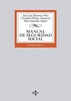 Eldeportedealbacete.es Manual De Seguridad Social (10ª Ed.) Image