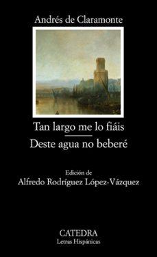 Bressoamisuradi.it Tan Largo Me Lo Fiais; Deste Agua No Bebere Image