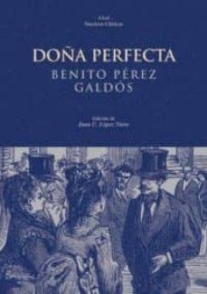 Ebook fácil de descargar DOÑA PERFECTA en español 9788446010548 de BENITO PEREZ GALDOS