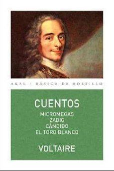 Descargas gratuitas de libros kindle para Android VOLTAIRE: CUENTOS en español de VOLTAIRE 9788446041948 PDB