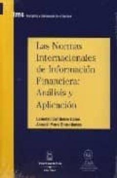 Relaismarechiaro.it Las Normas Internacionales De Informacion Financiera:analisis Y Aplicacion Image