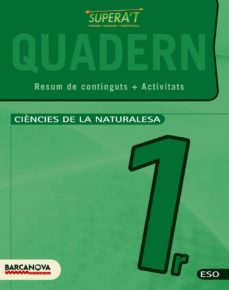 Followusmedia.es Supera T. Ciències De La Naturalesa 1 Eso. Quadern De Treball Image