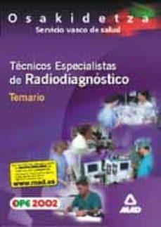 Trailab.it Tecnicos Especialistas De Radiodiagnostico Del Servicio Vasco De Salud-osakidetza: Temario Image
