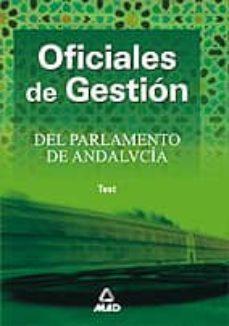 Javiercoterillo.es Oficiales De Gestion Del Parlamento De Andalucia: Test Image