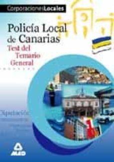 Padella.mx Policia Local De Canarias: Temario General Test Image