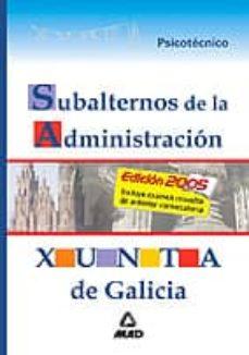 Curiouscongress.es Subalternos De La Administracion De La Xunta De Galicia: Psicotec Nico Image