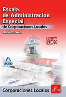 Carreracentenariometro.es Escala De Administracion Especial. Corporaciones Locales. Temario Comun Image