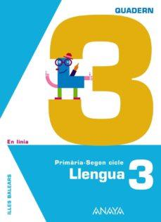 Mrnice.mx Llengua 3. Quadern 3. Educación Primaria Segundo Ciclo Image