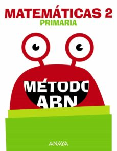 matemáticas 2º educacion primaria método abn cast ed 2018-9788469838648