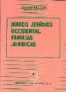 Emprende2020.es Marco Juridico Occidental: Familias Juridicas Image