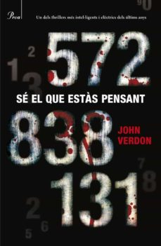 Libros de texto para descarga gratuita. SÉ EL QUE ESTÀS PENSANT (Spanish Edition) de JOHN VERDON