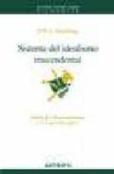 sistema del idealismo trascendental (2ª ed.)-friedrich wilhelm joseph schelling-9788476587348