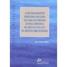 EL DESCONOCIMIENTO DE OPERACIONES VINCULADAS EN EL MARCO DEL PRINCIPIO DE PLENA COMPETENCIA DEL ARTÍCULO 18 DE LA LEY DELIMPUESTO SOBRE SOCIEDADES - AITOR NAVARRO IBARROLA | Triangledh.org