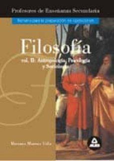 Eldeportedealbacete.es Filosofia (Vol. Ii): Etica Y Moral Image