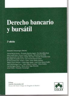 Carreracentenariometro.es Derecho Bancario Y Bursatil (2ª Ed.) Image