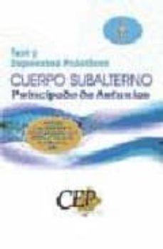 Mrnice.mx Test Y Supuestos Practicos Oposiciones Cuerpo Subalternos Princip Ado De Asturias Image