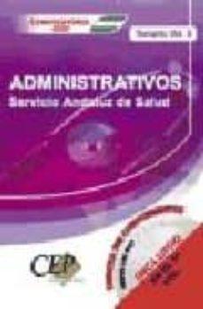 Mrnice.mx Oposiciones Administrativos. Servicio Andaluz De Salud (Sas): Tem Ario (Vol. Ii) Image