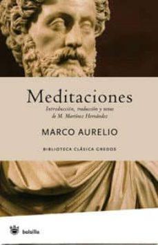 MEDITACIONES | MARCO AURELIO | Comprar libro 9788489662148