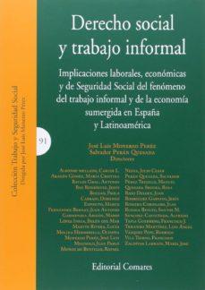 derecho social y trabajo informal-jose luis monereo perez-9788490452448