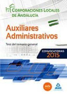 Followusmedia.es Auxiliares Administrativos De Corporaciones Locales De Andalucia: Test Image