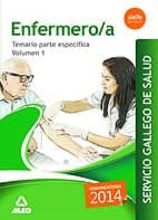 Colorroad.es Enfermero/a Del Servicio Gallego De Salud. Temario Parte Especifica Volumen 1 Image