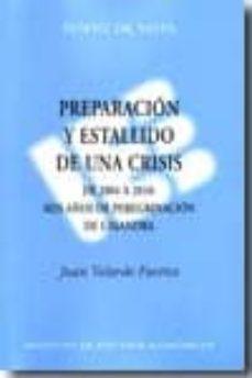 Carreracentenariometro.es Preparacion Y Estallido De Una Crisis:de 2004 A 2010: Seis Años D E Peregrinacion De Casandra Image