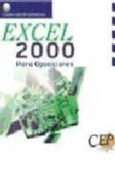 Descargar EXCEL 2000 PARA OPOSICIONES gratis pdf - leer online